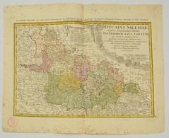 1745 Alsó-Szilézia Térképe. Ducatus Silesiae Tabula Altera Superiorem Silesiam Exhibens Ex Mappa Hasiana ... Anno 1746.  - Engravings