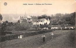 Hamoir - Château Des Fourneaux (animée, Jardin, Jardiniers) - Hamoir