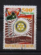 Benin 2005, Rotary International, Minr 1372, Vfu, Cv Undetermined - Bénin – Dahomey (1960-...)