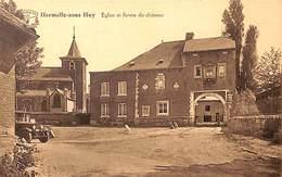 Hermalle Sous Huy - Eglise Et Ferme Du Château (oldtimer, Edit. F Polard) - Engis