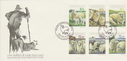 New Zealand 1991 Sheeps FDC - FDC