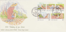 New Zealand 1991 Thinking Of You - FDC