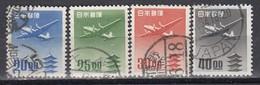JAPAN 1951 - MiNr: 551-554 4 Werte Gestempelt - 1926-89 Kaiser Hirohito (Showa Era)