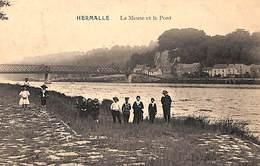 Hermalle - La Meuse Et Le Pont (animée, 1912) - Oupeye