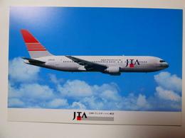 AIRLINE ISSUE / CARTE COMPAGNIE   JTA / JAPAN TRANSOCEAN AIR  B 767 - 1946-....: Ere Moderne