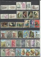 España. Lote De 9 Series De Los Años 1970. - Sellos