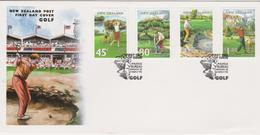 New Zealand 1995 Golf FDC - FDC