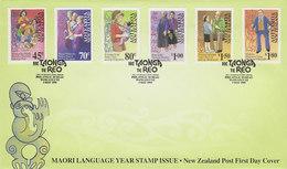 New Zealand 1995 Maori Language FDC - FDC