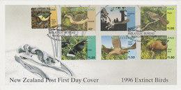 New Zealand 1996 Extict Birds FDC - FDC
