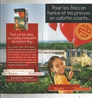 Dépliant Touristique , Sur La Piste De L'enfant ROY ,Anjou , Touraine , 2 Scans, Fraisfr 1.45 E - Dépliants Touristiques