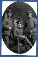 Carte Photo --  Groupe De Soldats Allemands - Weltkrieg 1914-18