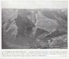 Vers 1930 - Iconographie - Navacelles (Gard) - Le Cirque - FRANCO DE PORT - Vieux Papiers