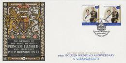 New Zealand 1997 Golden Wedding FDC - FDC