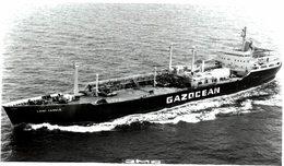 GAZOCEAN    13* 9 CM BARCO NAVIRES BOAT - Barcos
