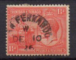 TRINITE ET TOBAGO ( POSTE ) : Y&T N°  112  TIMBRE  BIEN  OBLITERE . - Trinité & Tobago (...-1961)