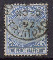 TRINITE  ( POSTE ) : Y&T N°  39  TIMBRE  BIEN  OBLITERE . - Trinité & Tobago (...-1961)