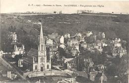 2527. ENVIRONS DU HAVRE . Ste-ADRESSE . VUE GENERALE VERS L'EGLISE  . CARTE NON ECRITE - Sainte Adresse