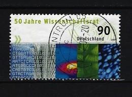 BUND Mi-Nr. 2622 - 50 Jahre Wissenschaftsrat Gestempelt (5) - Gebraucht