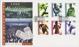 New Zealand 1998 Performing Arts FDC - FDC