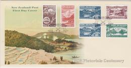 New Zealand 1998 Pictorials Stamp Centenary,FDC - FDC