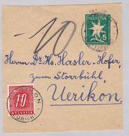 Ausschnitt Aus Streifband (br5279) - Postage Due