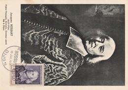 France Carte Maximun Bossuet  10 Juilet 1954 N°990 - Cartoline Maximum