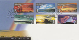 New Zealand 1998 Scenic Skies FDC - FDC