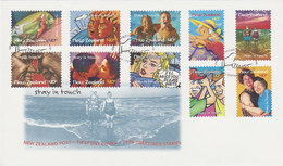 New Zealand 1998 Stay In Touch Self Adhesive  FDC - FDC