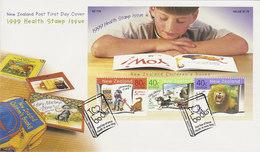 New Zealand 1999 Children's Health Souvenir Sheet FDC - FDC