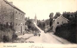 Teuven - Vue Sur L'Eglise (animée, Edit. Jonckers, 1904) - Voeren