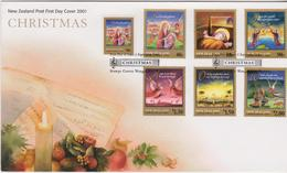 New Zealand 2001 Christmas FDC - FDC