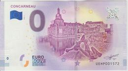 Billet Touristique 0 Euro Souvenir France 29 Concarneau 2018-1 N°UEHP001572 - Essais Privés / Non-officiels