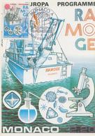 Carte Maximum   FDC   1er  Jour   MONACO   Programme  RAMOGE      EUROPA    1986 - Europa-CEPT