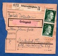 Colis Postal  - Départ Scharrachbergheim  --29/11/1943 - Allemagne