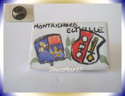 Fève Pin's... Jumelage Montrichard-Eltville ... (Pan 0011) - Charms