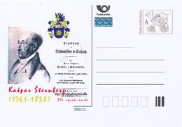 Rep. Ceca / Cart. Postali (Pre2013/60) Kaspar Maria Von Sternberg (1761-1838) Mineralogista, Entomologo, Botanico ... - Altri