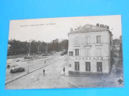 """33 ) Blaye - Allée De La Gare  """" Hotel De Bordeaux """"  - Année 1917 : EDIT : C.C.C.C - Blaye"""