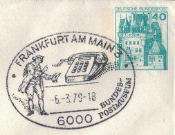 MB41   Special Postmark Cover Germany 1979  Phone, Telefono - Telecom