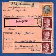 Colis Postal  - Départ Gross Mövern -  06/1943 - Allemagne