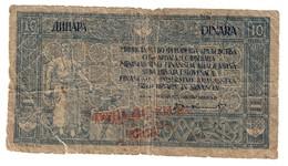 Yugoslavia 10 Dinara / 40 Kronen 1919 .J. - Jugoslavia