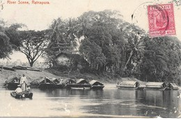 CEYLON - RATNAPURA - RIVER SCENE - S922 - Sri Lanka (Ceylon)