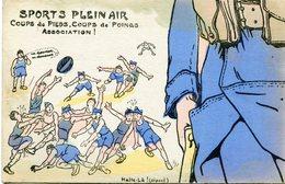 PUZZLE SPORTS PLEIN AIR Collection Halte Là - Humoristiques