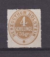 Schleswig-Holstein - 1865/66 - Michel Nr. 25 - Schleswig-Holstein
