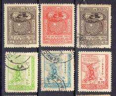 BOLIVIE ! Timbres AÉRIENS Depuis 1950 ! NEUFS - Bolivie