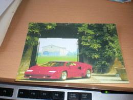 Lamborghini, Postcard - Voitures De Tourisme