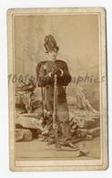 CDV A. Moriau Photographie, Bruxelles. Portrait D'un Militaire. - Photographs