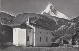 Suisse - Zermatt - Winkelmatten - Matterhorn - Postmarked 1963 - VS Valais