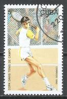 Cuba 1993. Scott #3478 (U) Davis Cup Tennis Competition * - Cuba