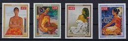 """Polynésie YT 604 à 607 """" Peintres Et Le Nu """" 1999 Neuf** - French Polynesia"""