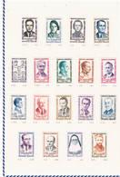 Colección De Sellos De 9 Países. Sellos Nuevos O Usados. A Destacar Francia E Italia - Colecciones (en álbumes)
